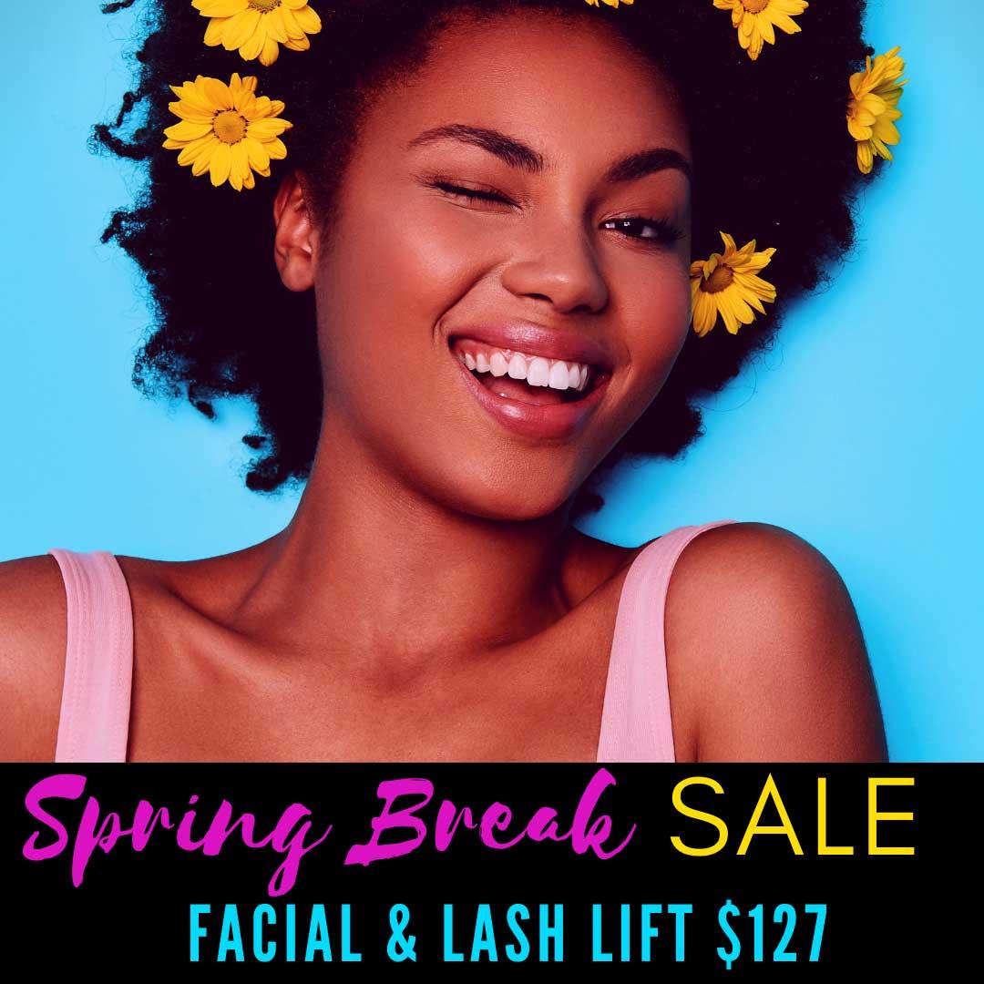 Viride Massage Spring Break Lash Special